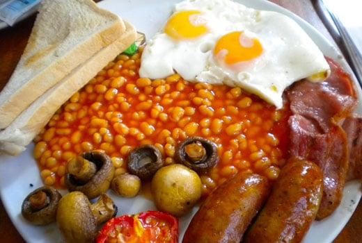 """O Café da Manhã Britânico – """"English Breakfast"""""""
