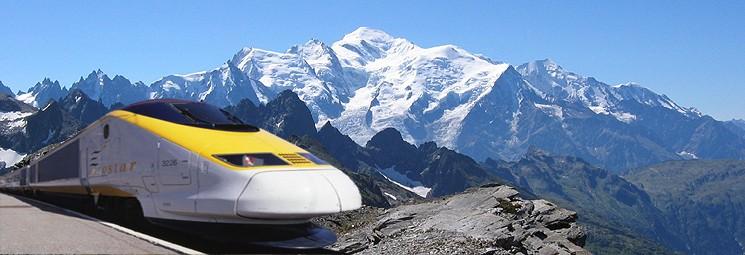 Viagens de Trem pela Europa