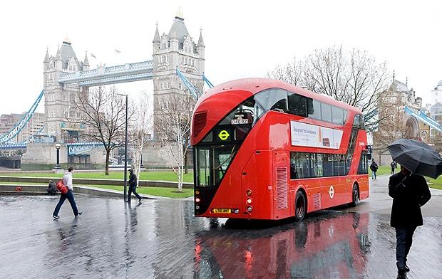 Ônibus em Londres