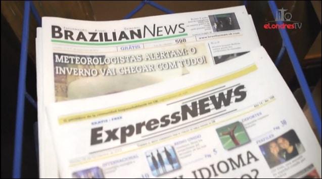 Vídeo: Aniversário do Jornal Brazilian News em Londres