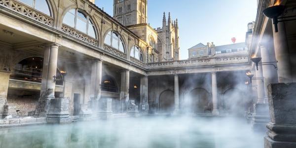 Roman Baths em Bath, Inglaterra