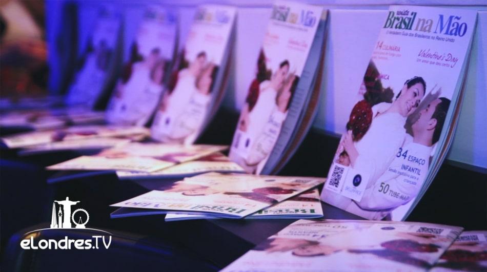 Brasil na Mão: nova revista para os brasileiros em Londres