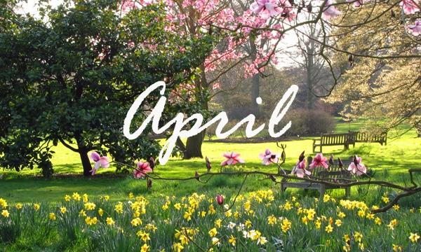 Londres em Abril