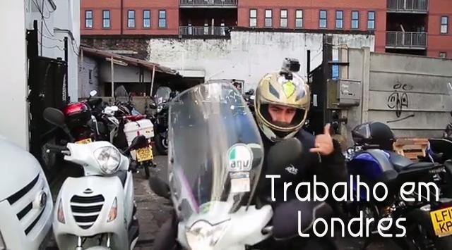 Vídeo: Trabalho em Londres | Courier