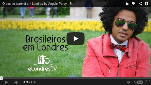 Vídeo: Brasileiros em Londres | Angelo Percy