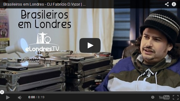 VÍDEO: Trabalho em Londres | Dj Fabrício D.Vyzor