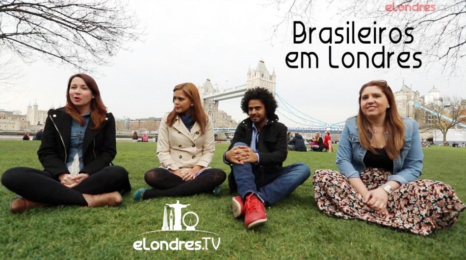 Vídeo: Brasileiros e Blogueiros em Londres