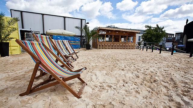 Praia em Londres: Camden Beach aberta até 23 de agosto