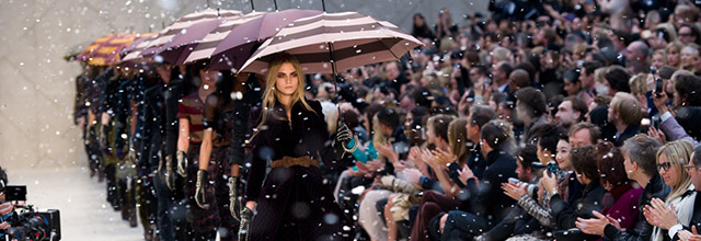 Burberry Prorsum: Runway - LFW Autumn/Winter 2012