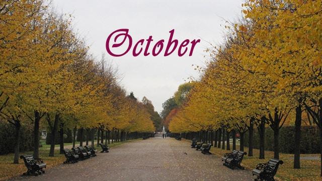 Londres em Outubro