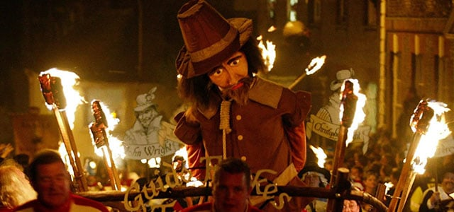 Customs and Traditions - Bonfire Night - Lewes
