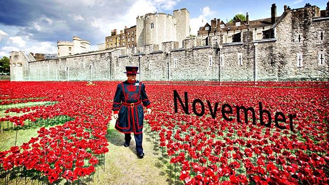 Londres em Novembro