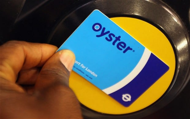 oyster-card touch in
