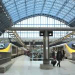 Viajar de trem saindo de Londres