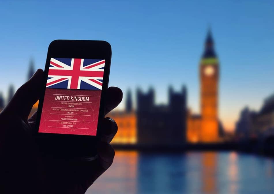 Operadoras de celular em Londres: Não fique desconectado!