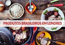 produtos brasileiros em londres