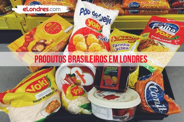 Produtos Brasileiros em Londres? Encontre aqui…