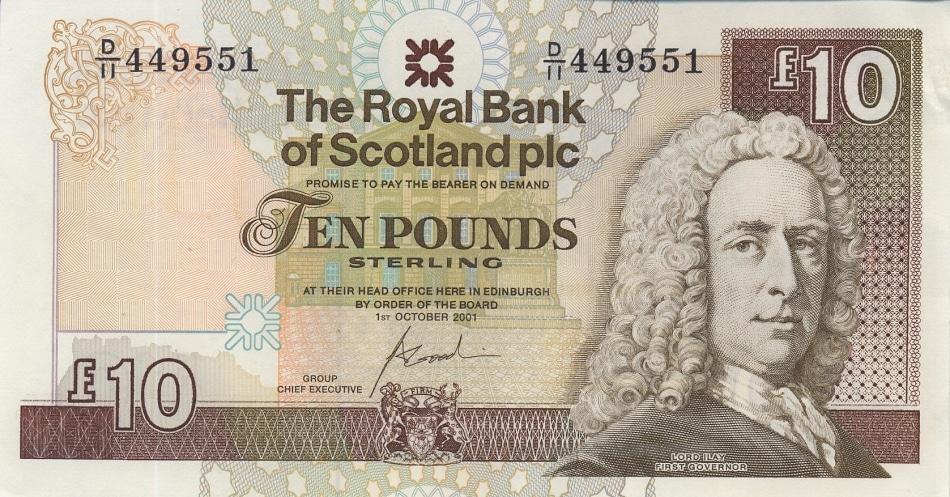 Cédula escocesa terá cidadã 'normal' pela primeira vez