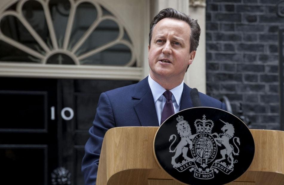 Cameron anuncia referendo sobre UE para junho