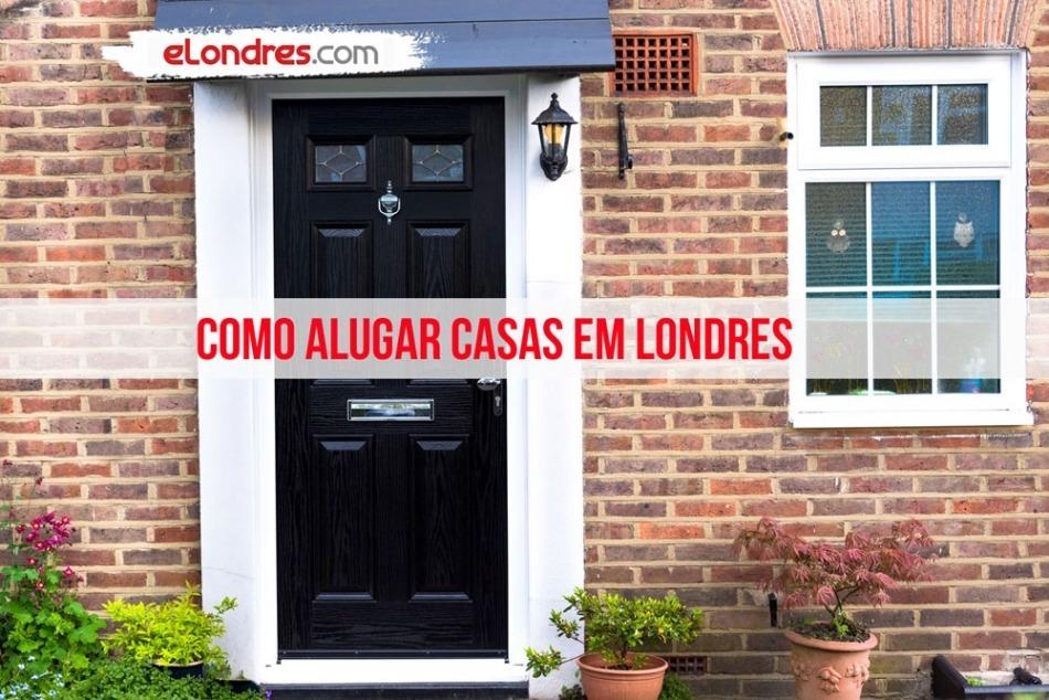 Como alugar casas e quartos em Londres