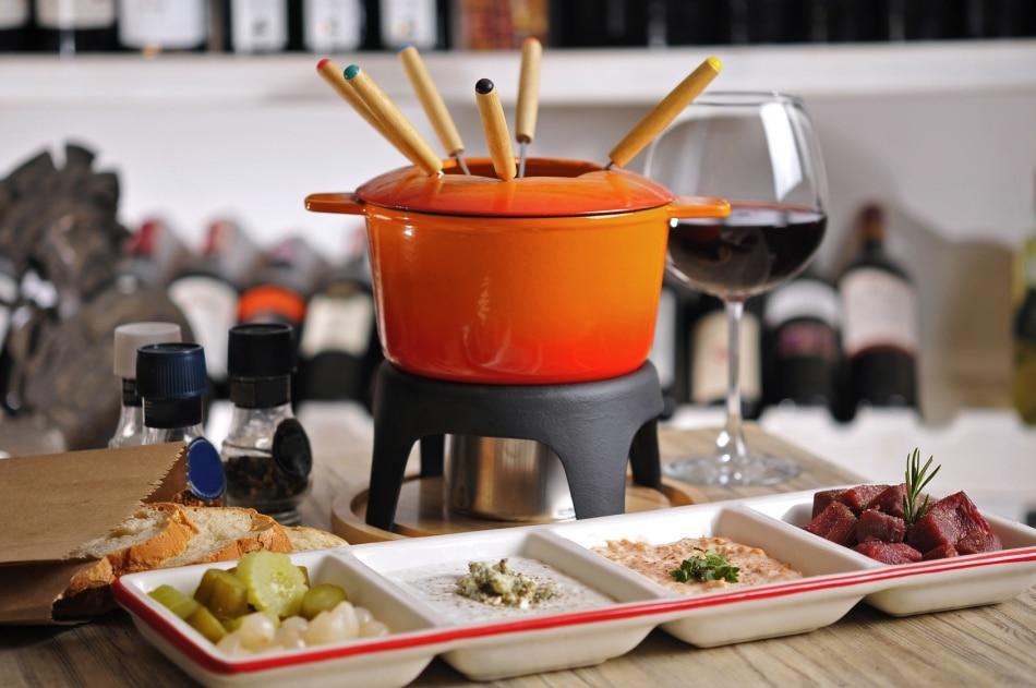 Onde comer fondue em Londres