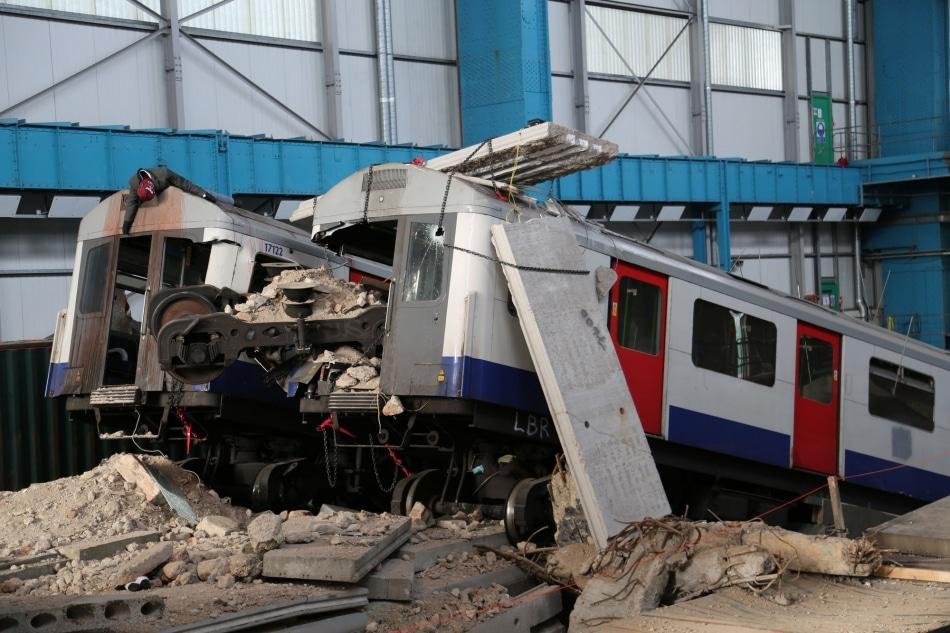 Desastre no transporte de Londres é tema de treinamento