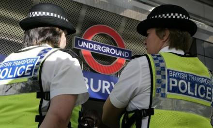 Polícia divulga dados de crimes no metrô de Londres
