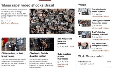 Estupro coletivo é destaque na mídia inglesa