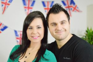 Mariana e Dave Destino Inglaterra