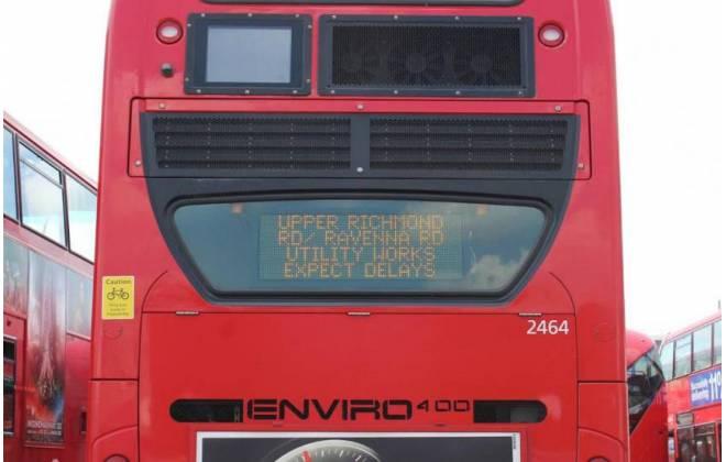 Janela inteligente – nova tecnologia dos ônibus de Londres