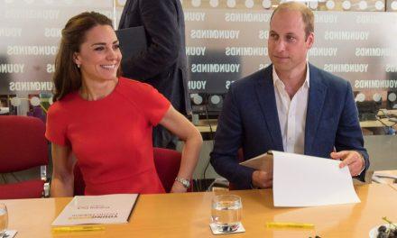 Kate e William apoiam projeto de saúde infantil em Londres