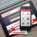 eLondresTOP5 comemora alcance do Aplicativo e Guia de Empresas