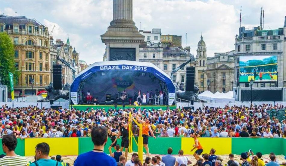 Brazil Day em Londres celebra Jogos Olímpicos e Paralímpicos Rio 2016