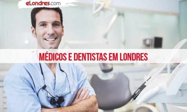 Médicos e dentistas brasileiros em Londres
