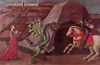 São Jorge e o Dragão, de Paolo Uccello, 1470