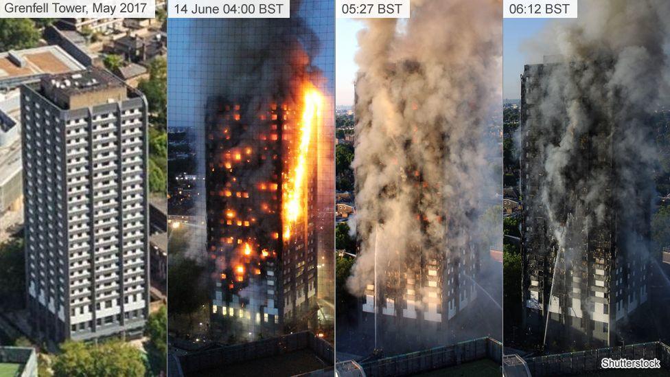 Incêndio em Londres destrói prédio de 24 andares