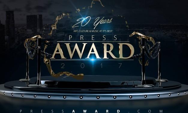 Votação aberta para o PRESS AWARD UK 2017 em Londres