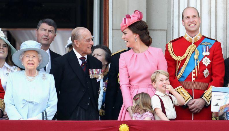 Família Real Britânica - Linhagem