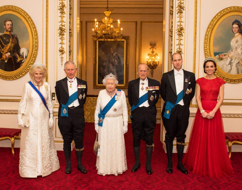 Família Real Britânica - Realeza