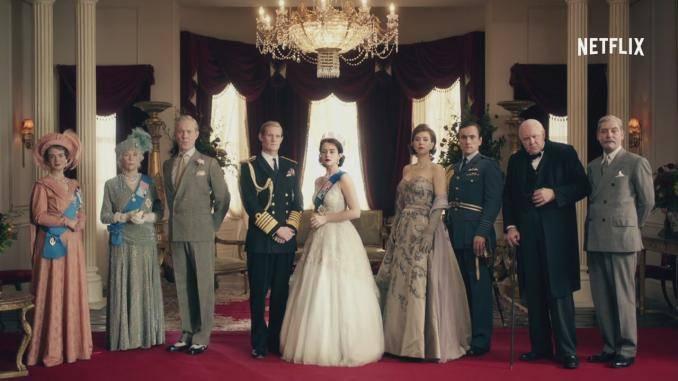 Elenco da Série The Crown