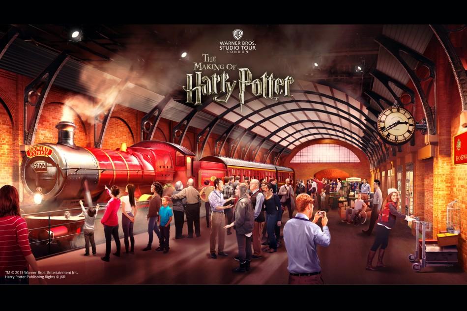 estúdios de Harry Potter em Londres